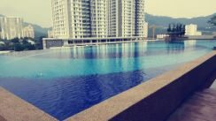 Sierra residence condo at sungai ara 1000sf