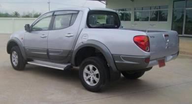Mitsubishi Triton [BLACK COLOR]Body Cladding 06-13