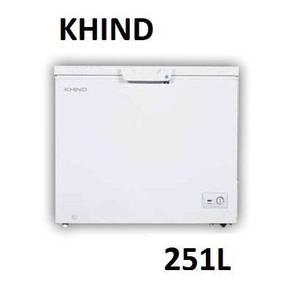 Khind FZ251 Chest Freezer 251LITER ~NEW ARRIVAL