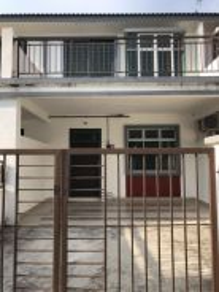Taman Scientex Kulai 2 Double Storey Terrace House End Lot For Rent