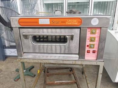 Oven 1 tray GAS GAS