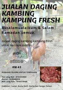 Daging kambing kampung fresh