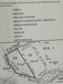 Tanah Di Pekan Tanjong Kling