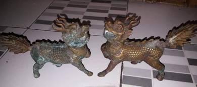 Brass decoration fantasy animal