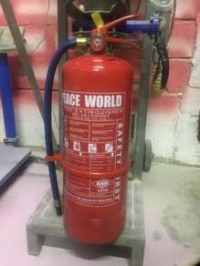 Pemadam api, Cctv dan alarm system