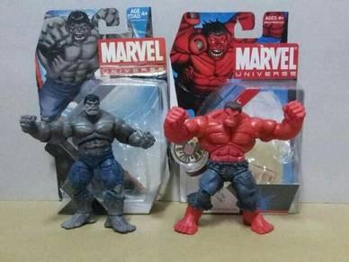 Set of Grey Hulk & Red Hulk