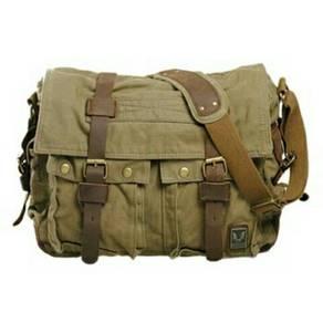 Single Strap Canvas Messenger Bag. BDI000001