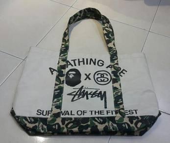BATHING APE x STUSSY Handbag