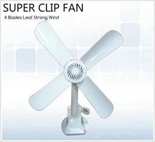 Super Clip Fan 4blade Dual Angle Adjustment Fan O
