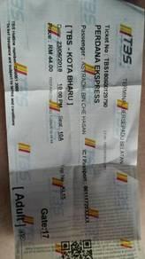 Tiket Bas Untuk di jual