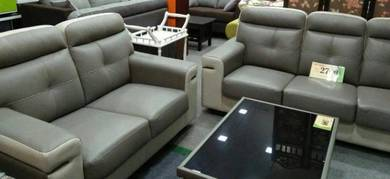 Leather sofa 2+3 offer #4019
