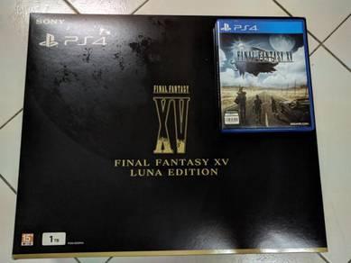 PS4 Slim 1TB Final Fantasy XV FFXV Luna Edition