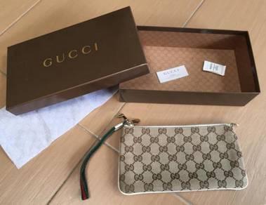 Authentic Gucci wristlet