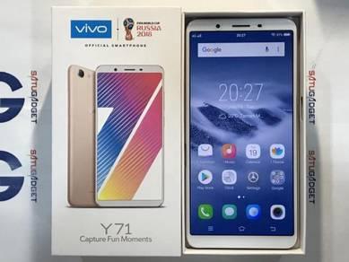 Vivo Y71 16GB 4G LTE ORI MYset Gold (Used)