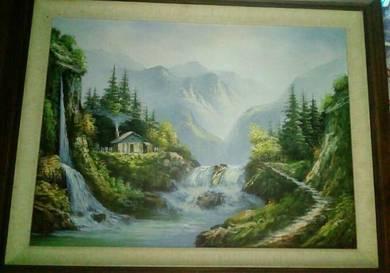 Lukisan untuk diletgo