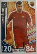 Match Attax CL 2018 Super Striker Edin Dzeko