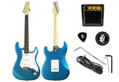 BLW Gitar Karen Beginner Set Percuma Amplifier