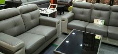 Leather sofa 2+3 offer #4033