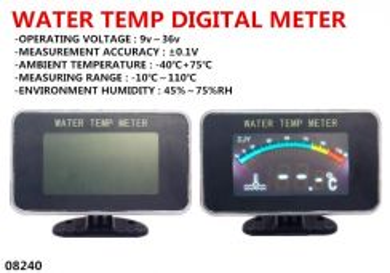 Water Temp Digital Meter VIOS ALMERA WIRA WAJA