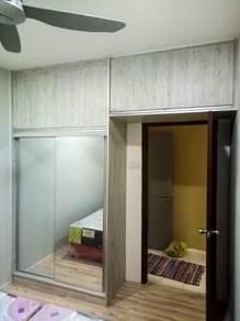 Kitchen cabinet/wardrobe/tv ;hg terus dari kilang