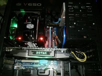 I7 Gtx1070 Desktop CPU Gaming High Ultra