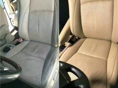 Toyota harrier estima leather seat rosak recover