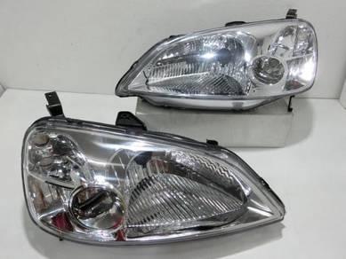 Honda Civic ES1 Head Light Lamp 1.7 NEW 01-03 NEW