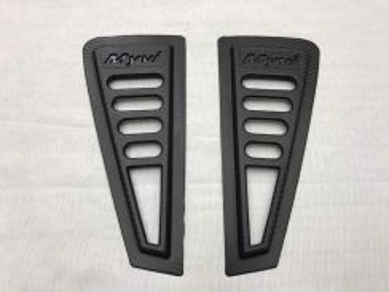 Perodua myvi window door cover carbon bodykit