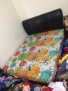 Queen Size Bed Frame with Free Mattress
