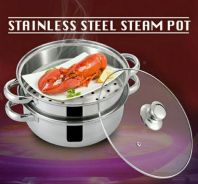 Stainless steel steam pot