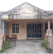 Besut, Single storey terraced house