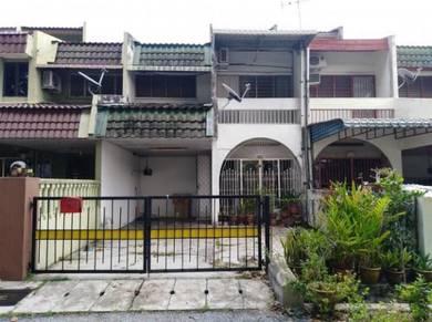(20x75 SQFT )Double sty house in tmn ria bercham