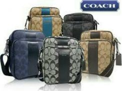 Brand new Dark grey coach original beg