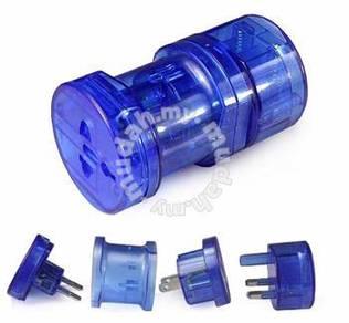 Universal travel adapter multi plug lektrik jimat