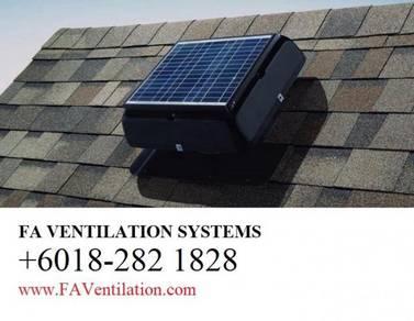 FA DTM11Q Solar Powered Roof Ventilator GERMANY