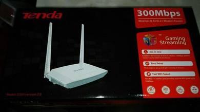 TENDA WIRELESS N 300Mbps