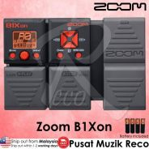 New Zoom B1Xon Bass Guitar Multi Effect Pedal