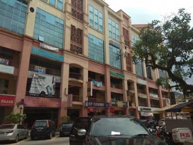 Diamond square fully furnish office at jalan gombak setapak