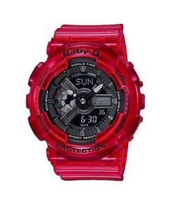 Watch- Casio BABY G CORAL BA110CR-4 -ORIGINAL