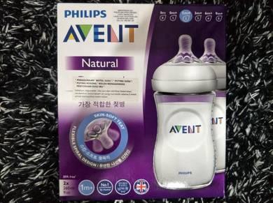 Philips Avent 2x 260ml Feeding Bottles