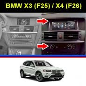 BMW X3 X4 F25 F26 8.8