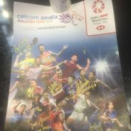 Malaysia Open 2019 Signed Poster