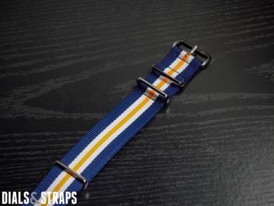 Heritage Racing Navy Orange NATO Strap