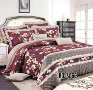 English Design ED-406C Cadar + Comforter Bedsheet