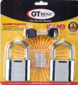 GT Benz Alarm Padlock