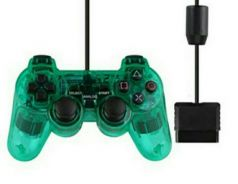 PS2 NEW wired & wireless controller (S)