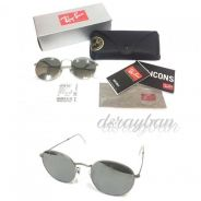 Original Ray Ban Round Metal RB3447 019/30