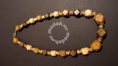 Wood Shaped Necklace