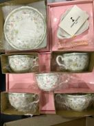 Brand New Antique Cup Set