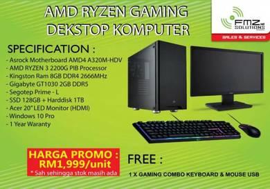Promo PKPB Deskstop Computer AMD Ryzen 3